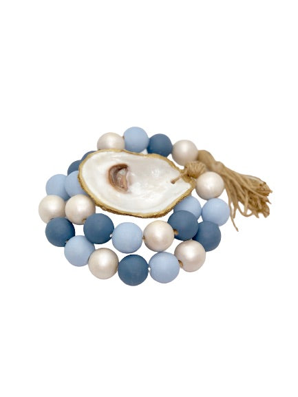 Nantucket Oyster Hospitality Beads