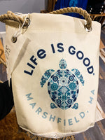 Life Is Good In Marshfield Sea Bags Bucket Bag