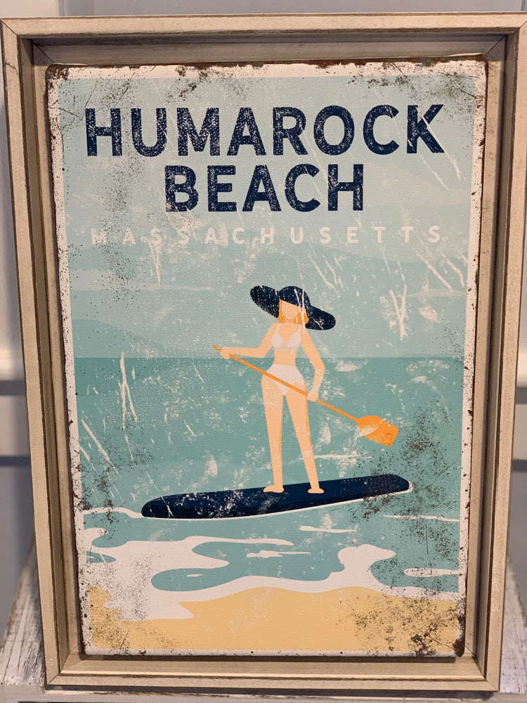 Custom Vintage Beach, SUP, Boat Prints