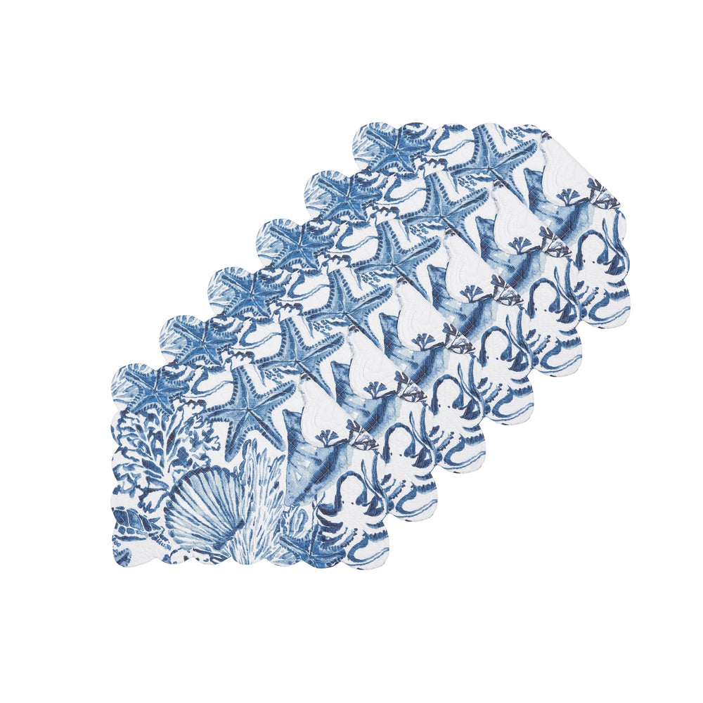 Blue Coast Shells Placemats