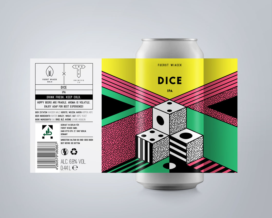 Dice IPA w/ Track Brewing | 4 Pack