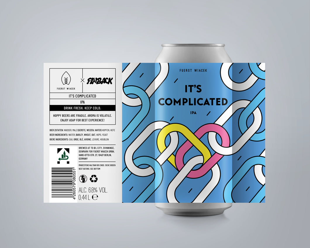 It's Complicated IPA | 4 Pack