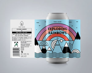 Exploding Rainbows IPA | 4 Pack