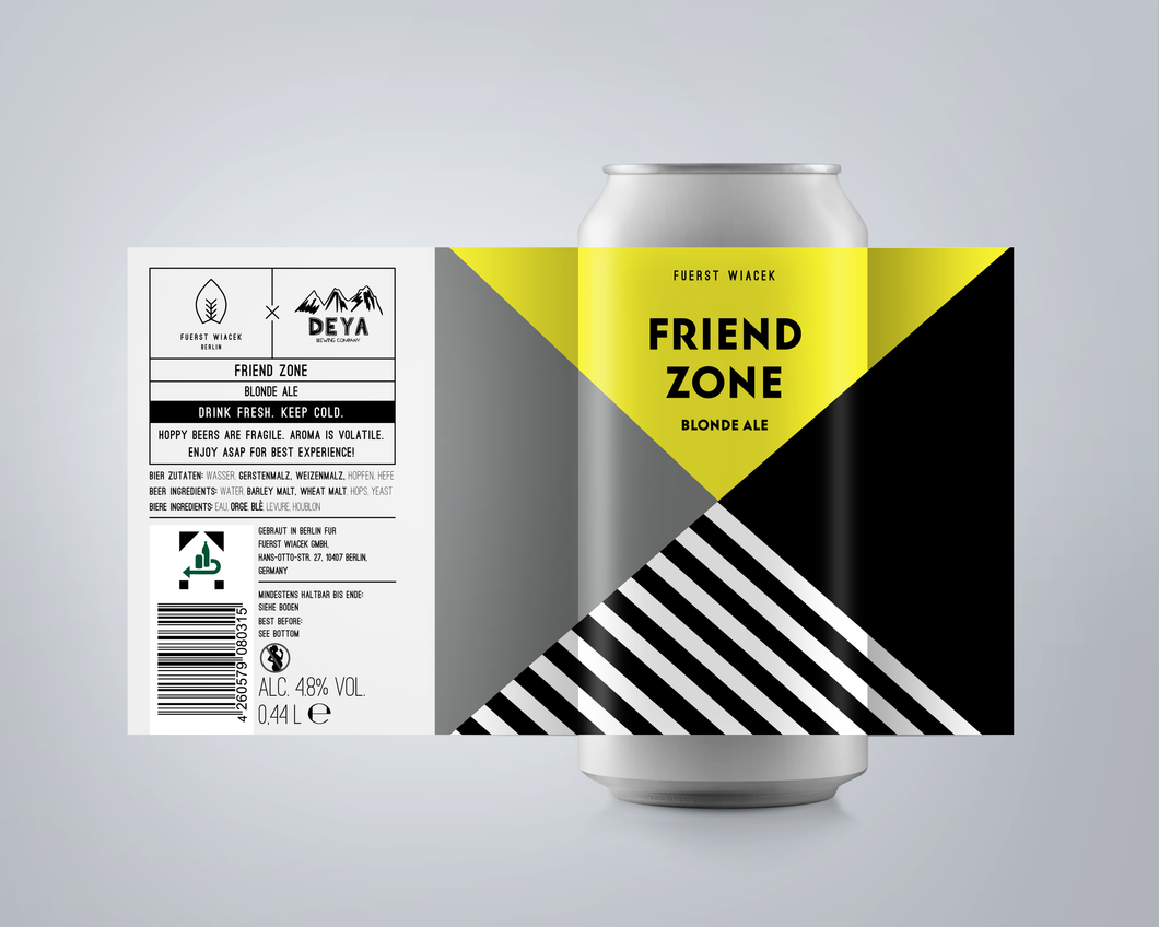 Friend Zone Blonde Ale | 4 Pack