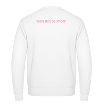 "Charger l'image dans la galerie, Sweat simple - White - ""Kids Revolution"""