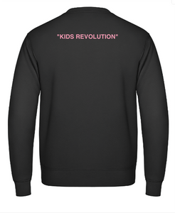 "Sweat simple - Black - ""Kids Revolution"""