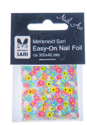 Easy-On Nail Foil - Retro Flower 60's