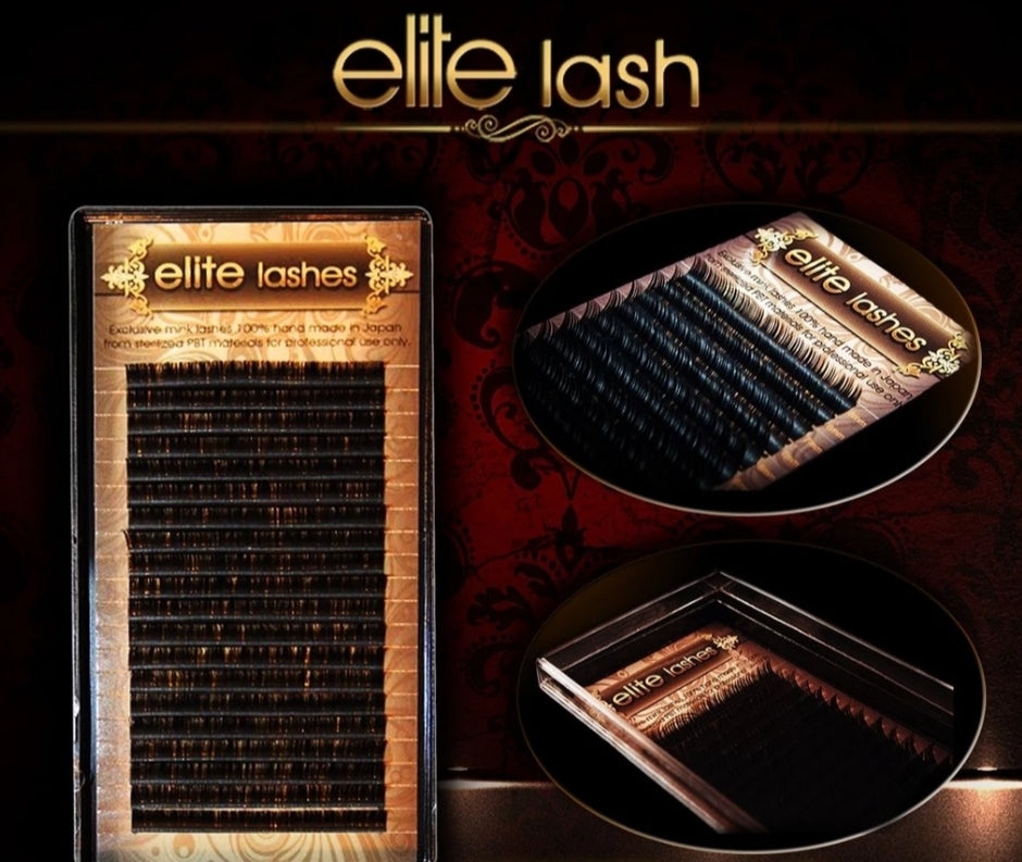Elite lashes black 0.06 C