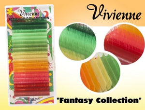 "VIVIENNE FANTASY COLLECTION COLOR MIX ""TREE NYMPH"" ONE LENGTH 20 LINES D.07"