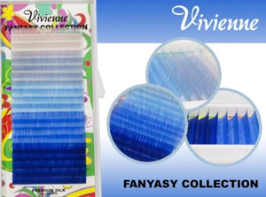 "VIVIENNE FANTASY COLLECTION COLOR MIX ""MAGIC OF THE SKY"" ONE LENGTH 20 LINES D.10"
