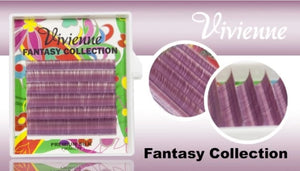 "VIVIENNE FANTASY COLLECTION ""GRAPE"" MIXED LENGTH 6 LINES D 0.10 8-13mm"