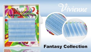 "VIVIENNE FANTASY COLLECTION ""TOPAZ"" MIXED LENGTH 6 LINES D.10  8-13mm"