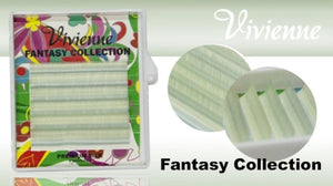 "VIVIENNE FANTASY COLLECTION ""TEA TREE"" MIXED LENGTH 6 LINES D.10  8-13mm"