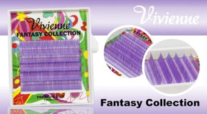 "VIVIENNE FANTASY COLLECTION ""LILAC"" MIXED LENGTH 6 LINES D.10  8-13mm"