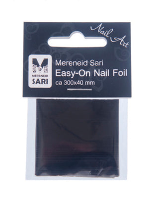 Easy-On Nail foil - Laser Black