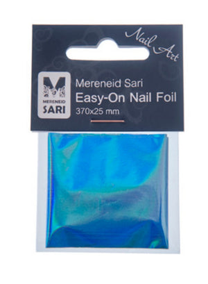 Easy-On Nail Foil - Laser Light Blue