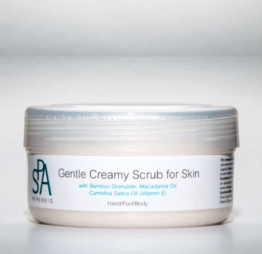 Gentle Creamy Scrub for Skin