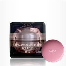 Ultimate Camouflage gel Rose 10ml