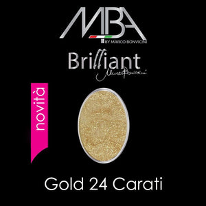 17 Brilliant GOLD 24 CARATI