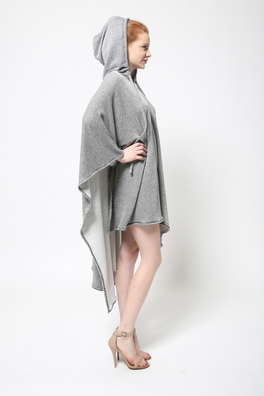 Zip Up Poncho