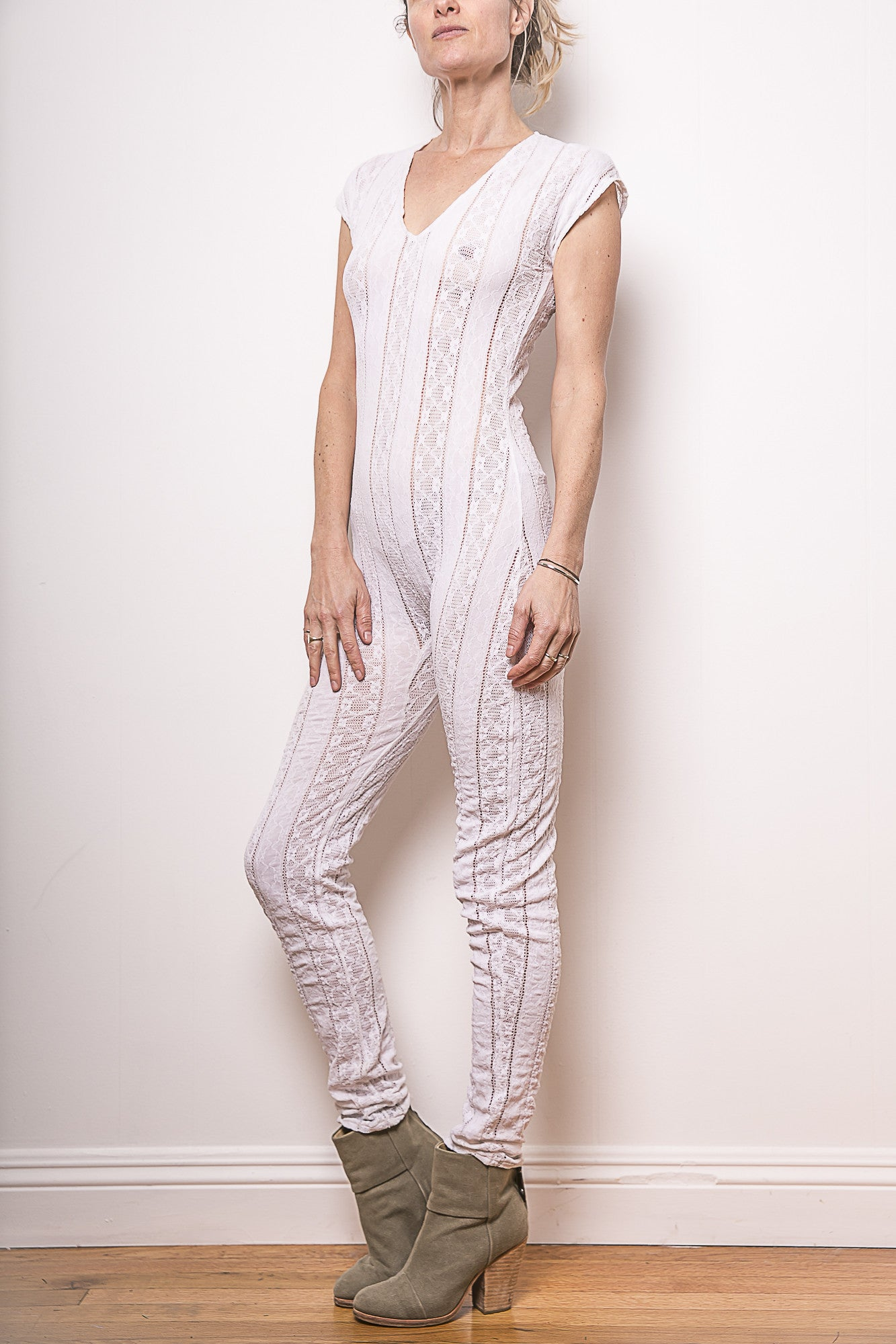 White Lace Onsie