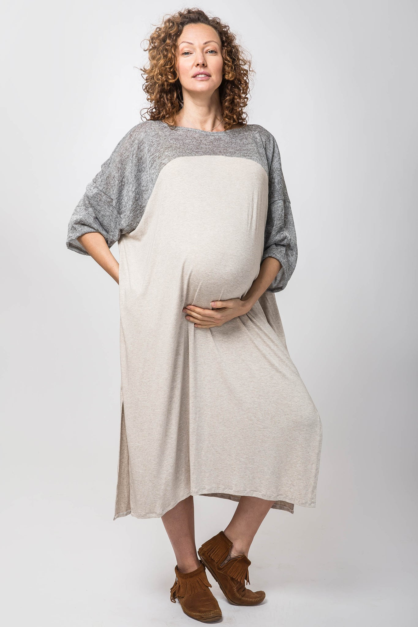 aloha-maternity-dress-creme-kucoon-mumu
