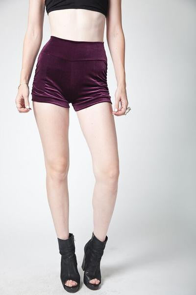Bella Velvet Shorts