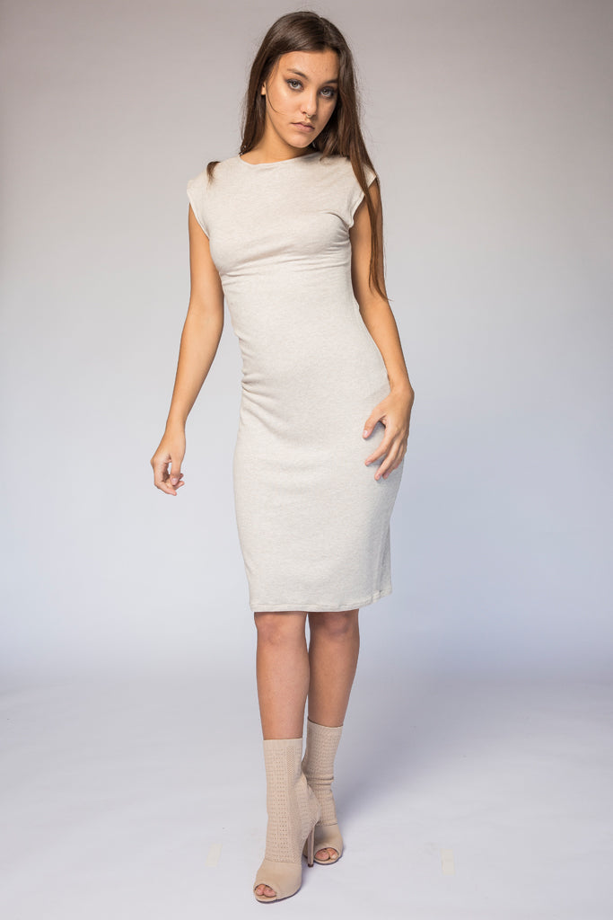 High/ Neck Tube Dress