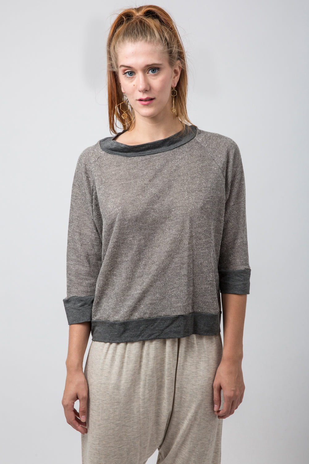Henley Terry Top