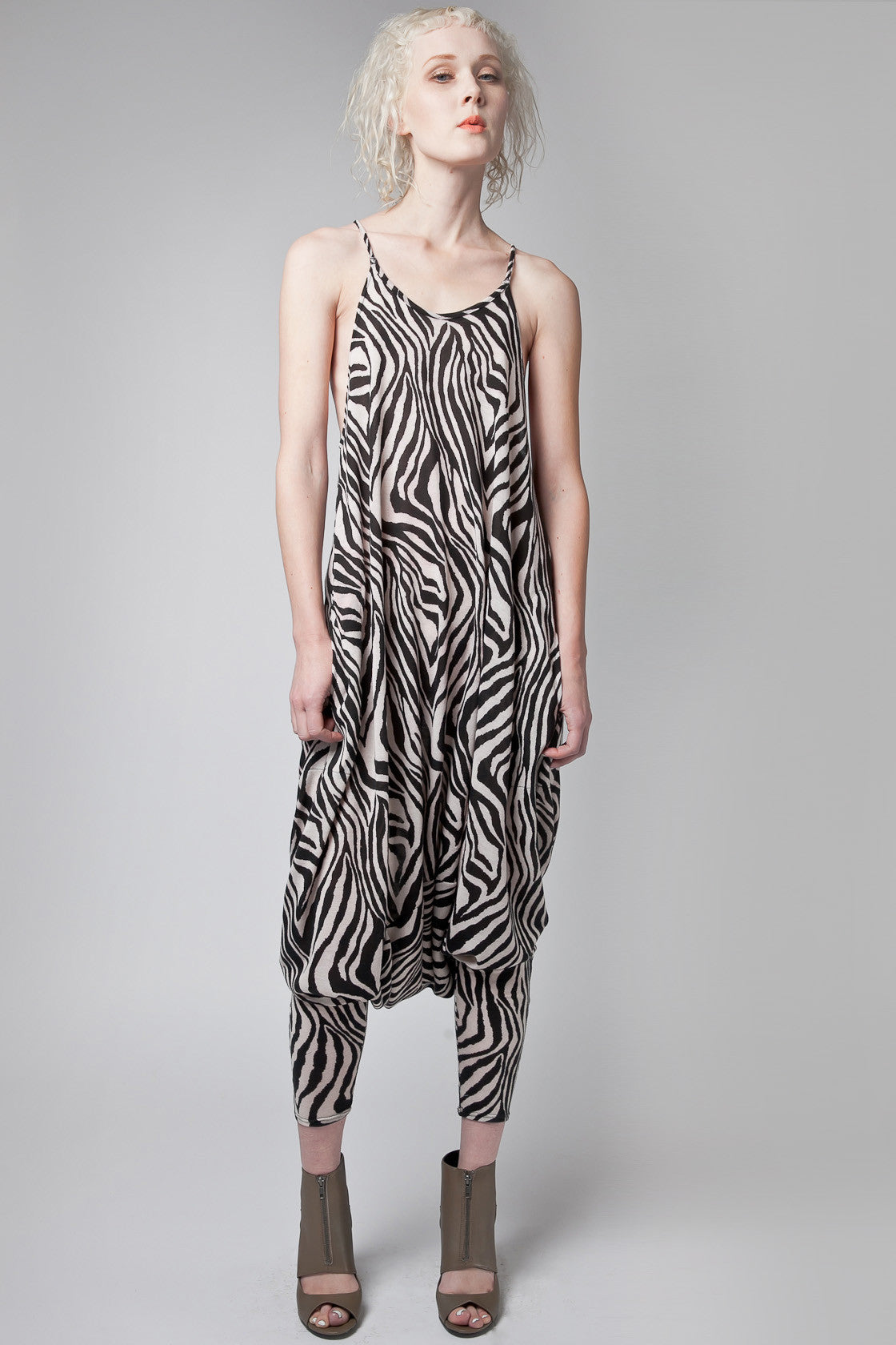 Riley Zebra Harem Jumper