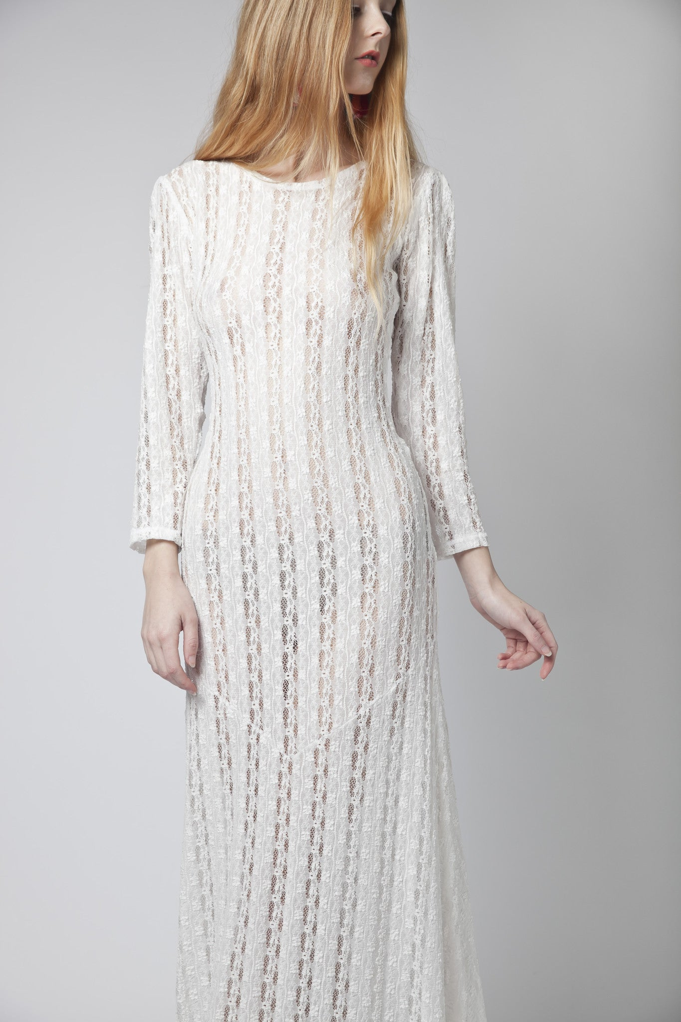Alethea Sheer Dress