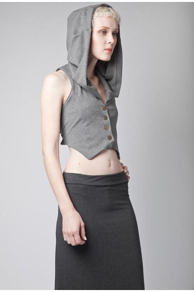 Sasha Hooded Vest