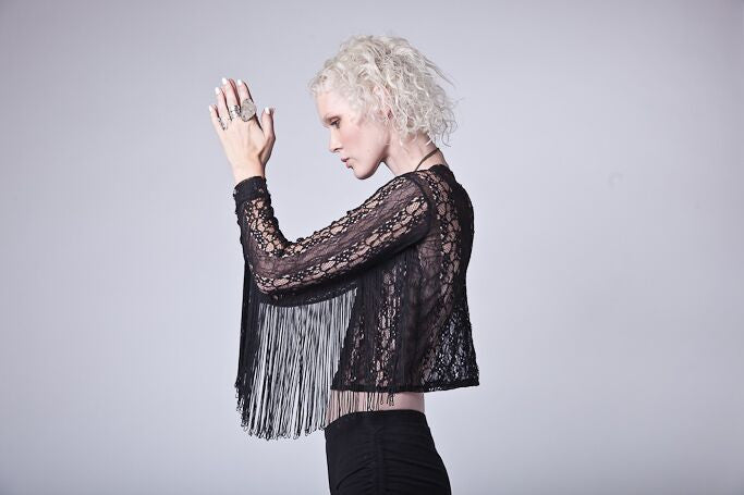 Freda Fringe Lace Top