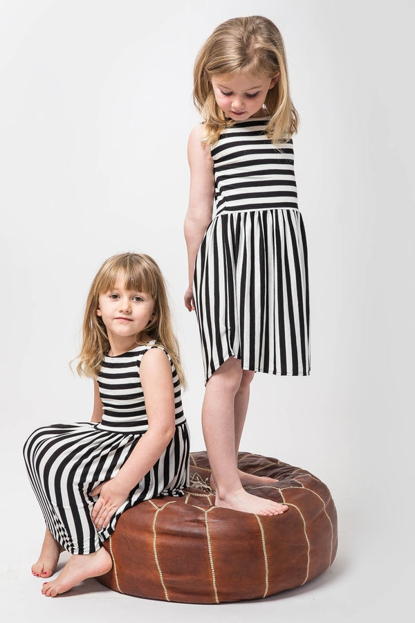 stripe-girls-dress-kids-black-and-white-kucoon-made-usa