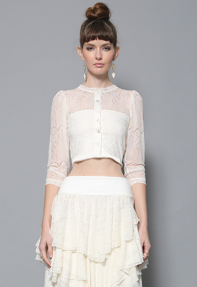 Luca Lace Top
