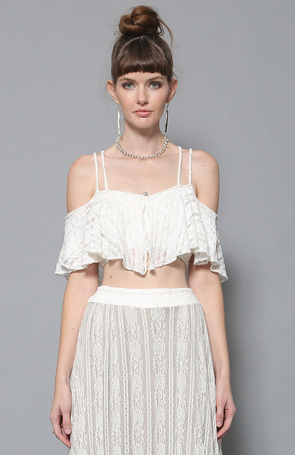 Niko Strap Lace Top