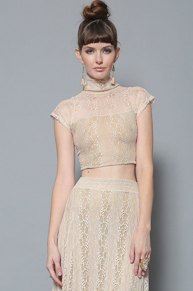 Nora Cap Sleeve Lace