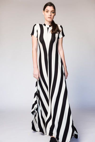 Reina Stripe Dress