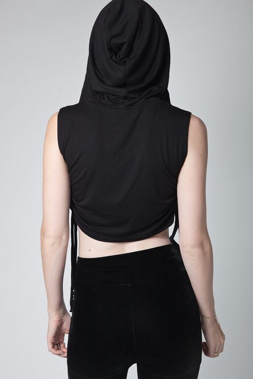 Somali Hooded Crop Top