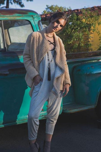 Sherpa Cardigan Jacket