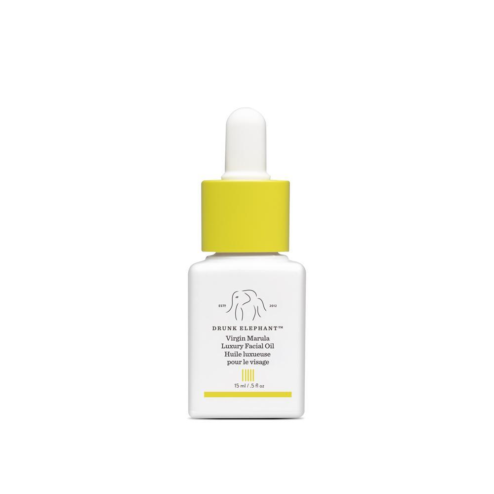 Virgin Marula Luxury Facial Oil Comes in the smaller, easier to travel with 15ml size