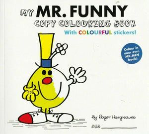 My Mr Funny Copy Colouring Book