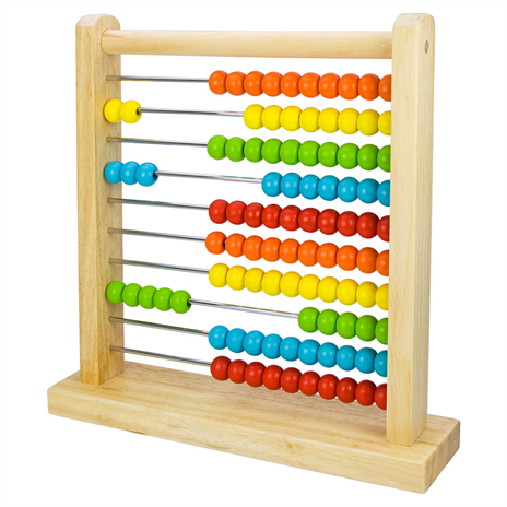 Bigjigs Wooden Abacus The Bubble Room Toy Store Dublin