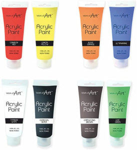 Work of Art Acrylic Paint 120ML Tubes