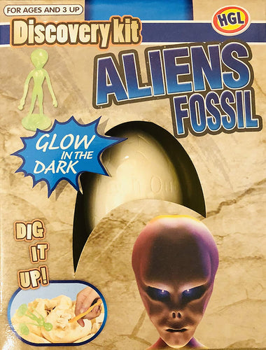 Aliens Fossil Kit The Bubble Room Toy Store Dublin