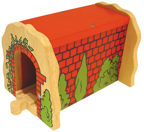 Bigjigs Red Brick Tunnel The Bubble Room Toy Store Dublin