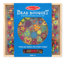 Load image into Gallery viewer, Melissa & Doug Bead Bouquet Deluxe Wooden Bead Set The Bubble Room Toy Store Dublin