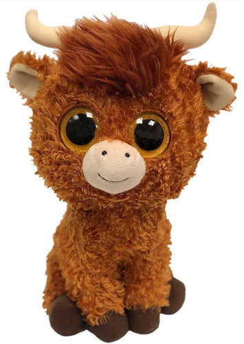 Ty Beanie Boo Angus Highland Cow  The Bubble Room Toy Store Dublin