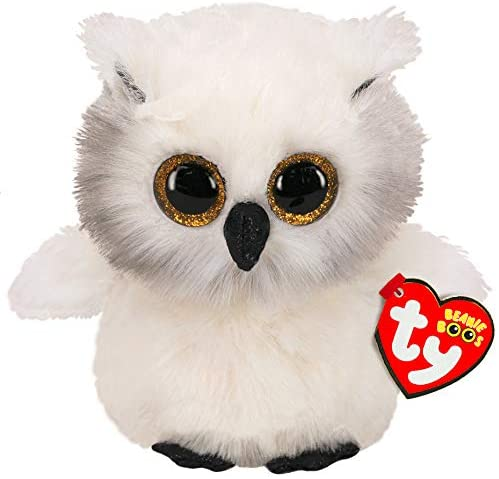 Ty Beanie Boo Austin Owl The Bubble Room Toy Store Skerries Dublin