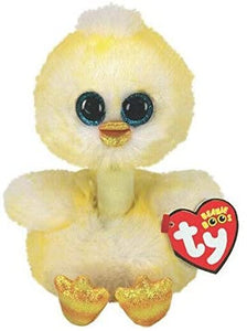 "Ty Beanie Boos 6"" Benedict The Chick The Bubble Room Toy Store Dublin"